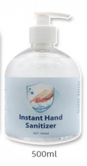 Hand sanitizer gel 75 % alkohol 500 ml